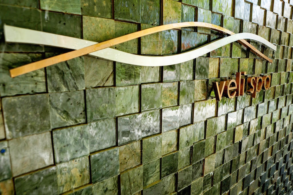 Veli Spa Entrance, Kurumba Maldives