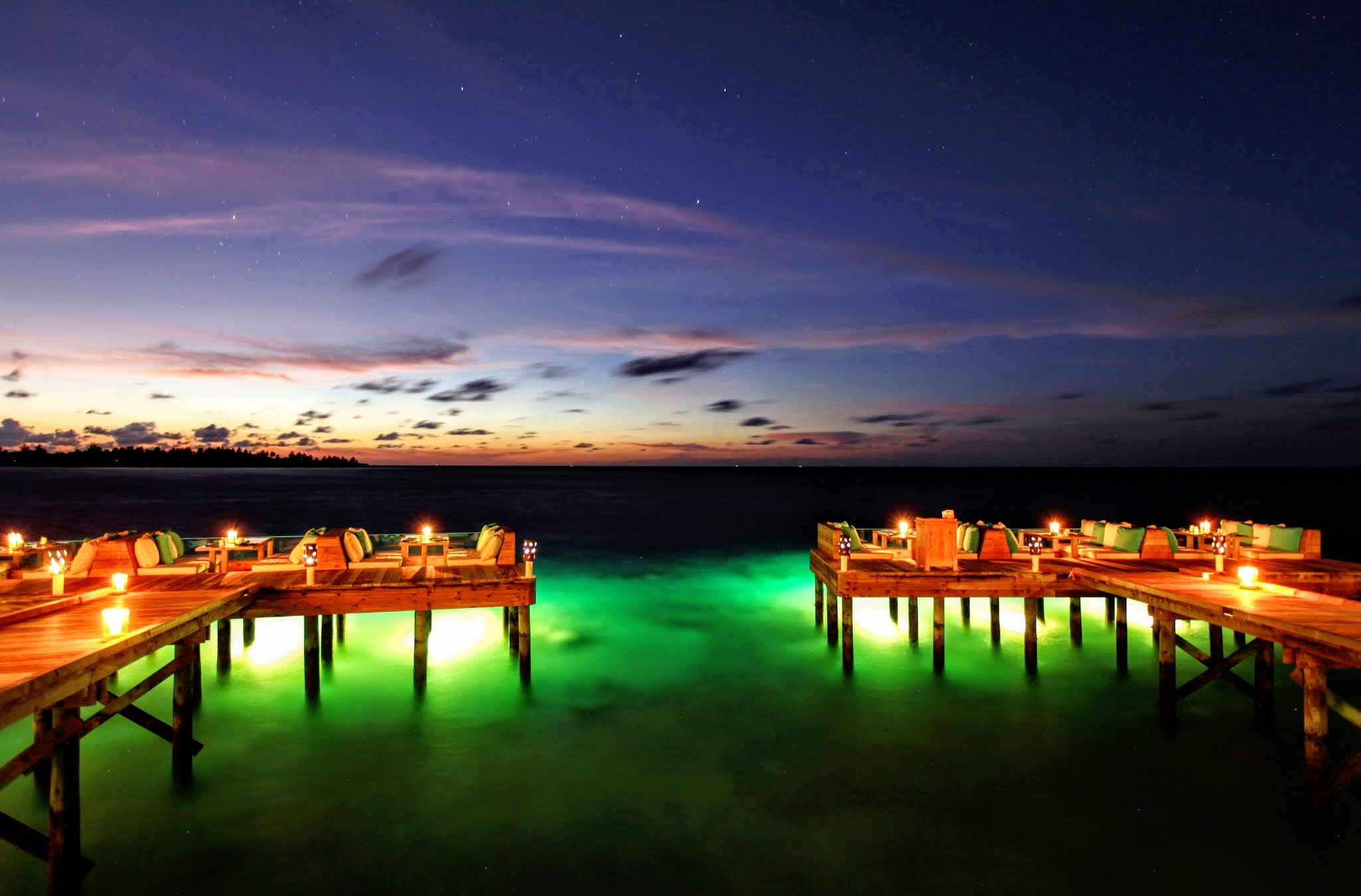Deck-a-Dense, Six Senses Laamu