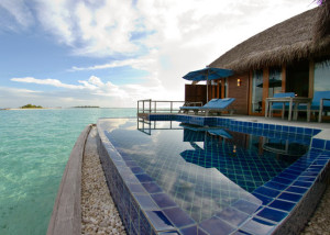 Over Water Pool Suite, Anantara Dhigu Resort & Spa