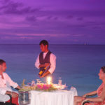 Dining at Adaaran Club Rannalhi
