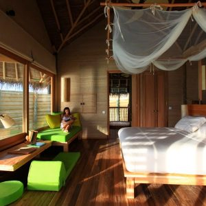 Lagoon Water Villa, Six Senses Laamu Maldives