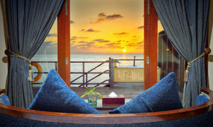 Sunset Jacuzzi Water Villas, Olhuveli Beach & Spa Maldives Resort