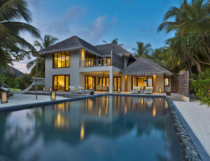 Three-Bedroom Beach Residence, Dusit Thani Maldives