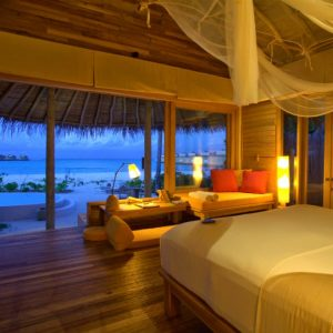 Two-Bedroom Lagoon Beach Villa with Pool, Six Senses Laamu Maldives