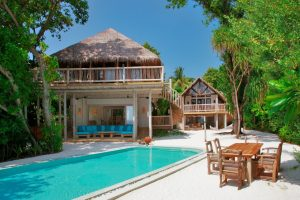 3 Bedroom Crusoe Villa Suite with Pool, Soneva Fushi