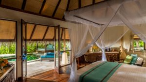 Beach Pavillion with Pool, Four Seasons Resort Maldives at Kuda Huraa