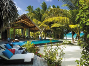 Beach Villa, Shangri-La's Villingili Resort & Spa