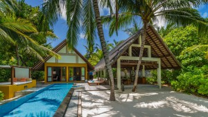 Family Beach Villa with Pool, Four Seasons Resort Maldives at Landaa Giraavaru