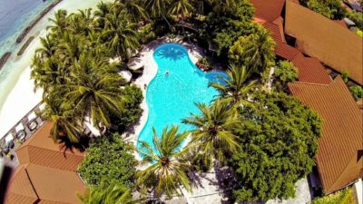 Kurumba Pool Aerial view