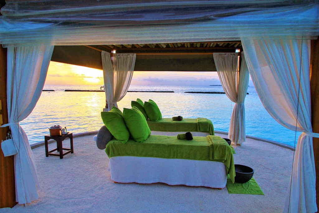 Raalhu Outdoor Treatments, Veli Spa, Kurumba Maldives