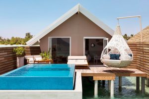 Romantic Pool Water Villa, LUX* South Ari Atoll