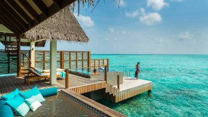 Sunset Water Villa with Pool, Four Seasons Resort Maldives at Landaa Giraavaru