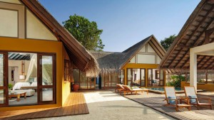 Two Bedroom Family Beach Bungalow with Pool, Four Seasons Resort Maldives at Landaa Giraavaru