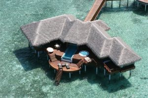 Two bedroom ocean pavilion with pool, Huvafen Fushi Maldives