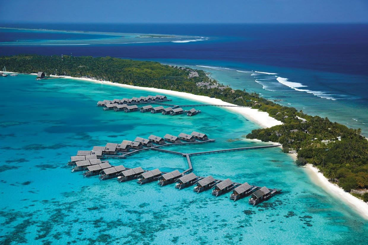 Shangri la villingili resort and spa