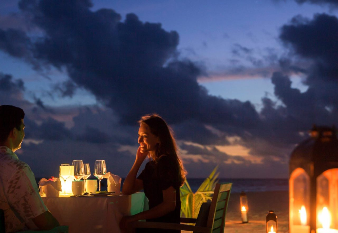 Beach Dining, Outrigger Konotta Maldives Resort