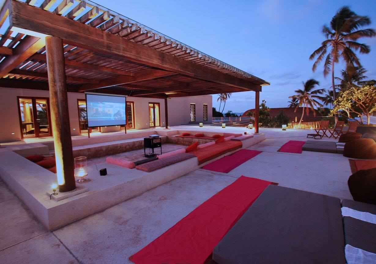 Fresh Air Cinema, Park Hyatt Maldives Hadahaa