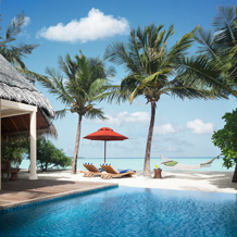 One & Two Bedroom Beach Villa Suites with Oversized Plunge Pool, Taj Exotica Resort & Spa