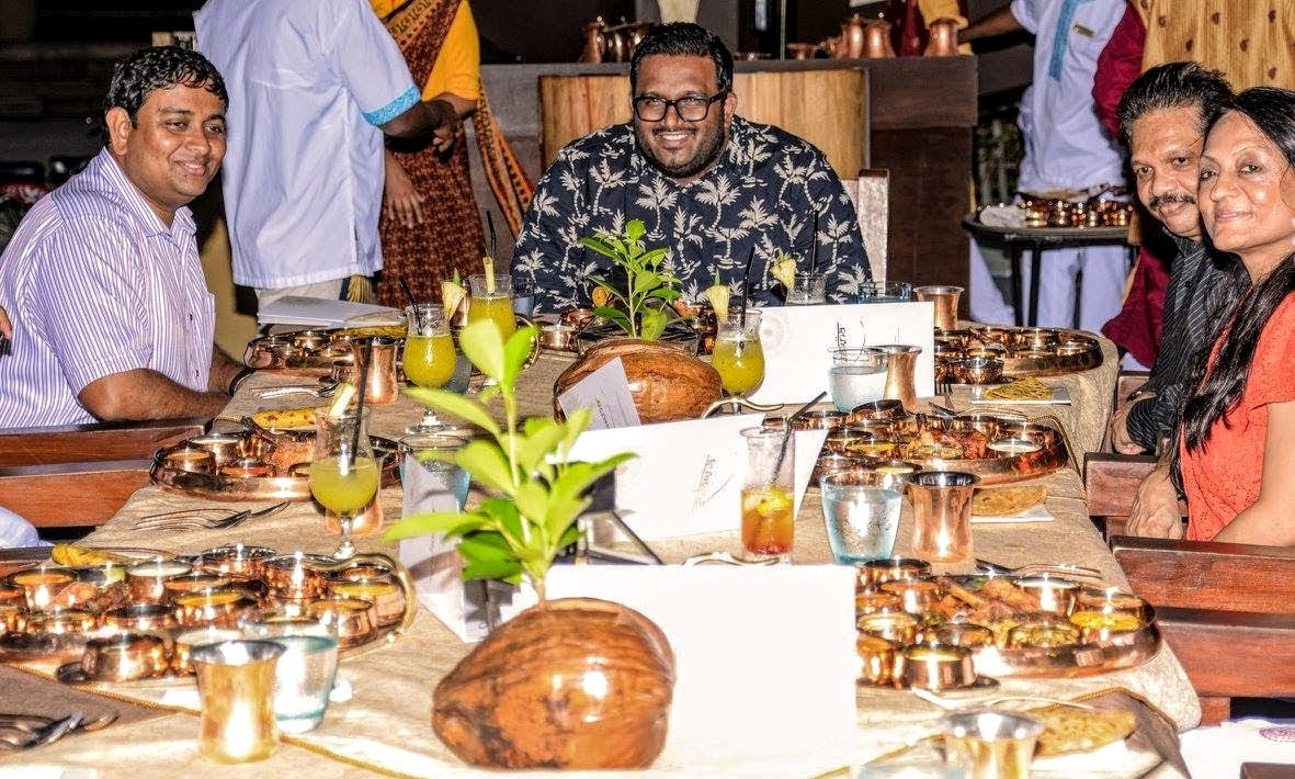 Ahmed Adeeb at Jumeirah Vittaveli, Maldives