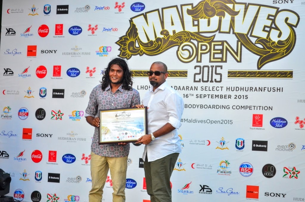 Awarding Ceremony of the 2nd Annual ASC Maldives Open 2015