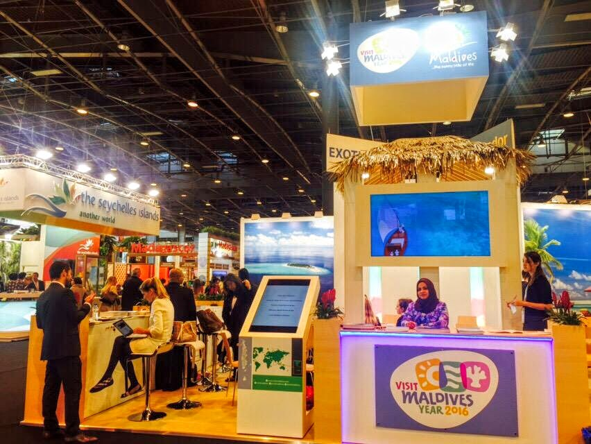 Maldives Marketing and Public Relations Corporation (MMPRC) at International French travel Market (IFTM) Top Resa held in Paris
