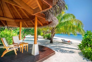 Beach Front Cottage, Sheraton Maldives Full Moon Resort & Spa