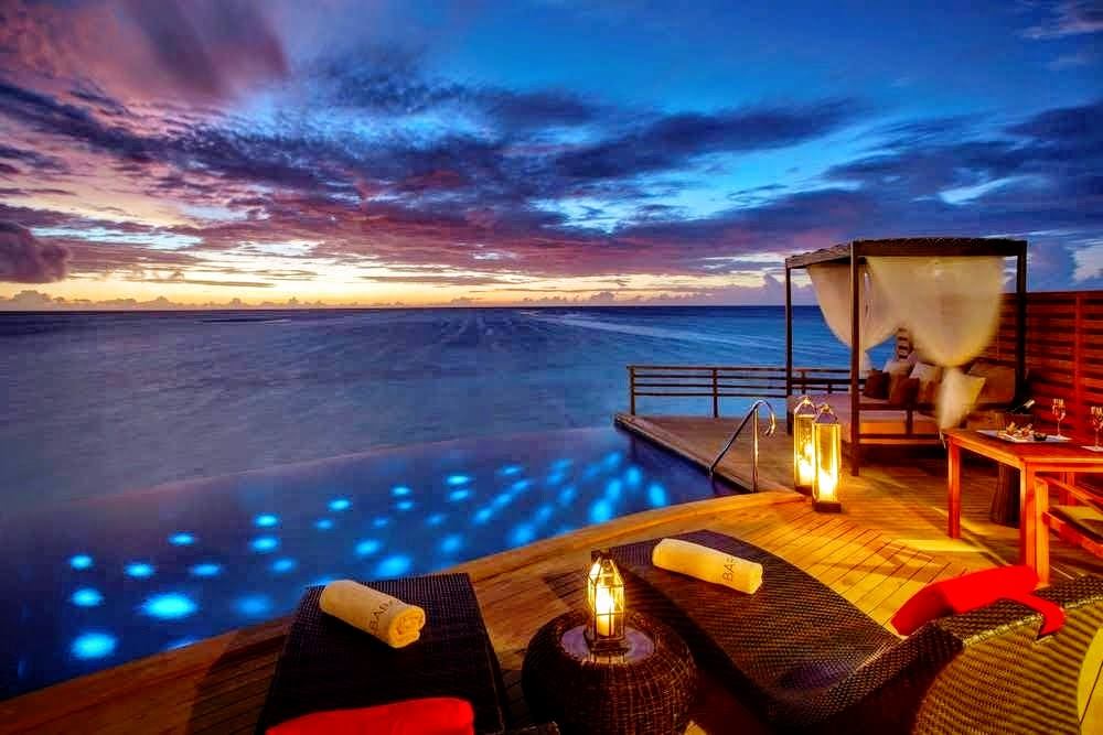 Water Pool Villa, Baros Maldives