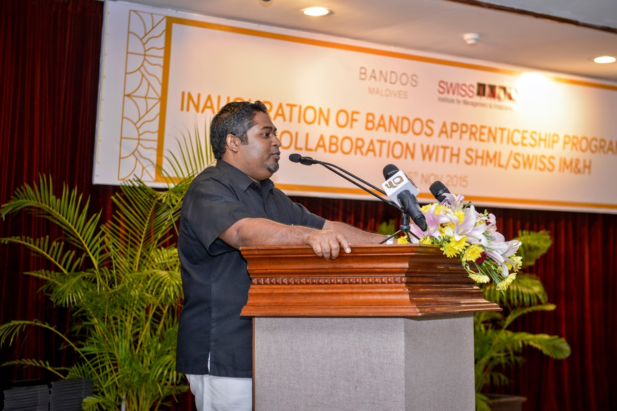 Inauguration of Bandos Apprenticeship Program In Collaboration With SHML/Swiss IM&H