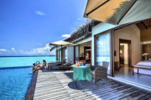 Water Pool Villa - Two Bedroom, The Residence Maldives