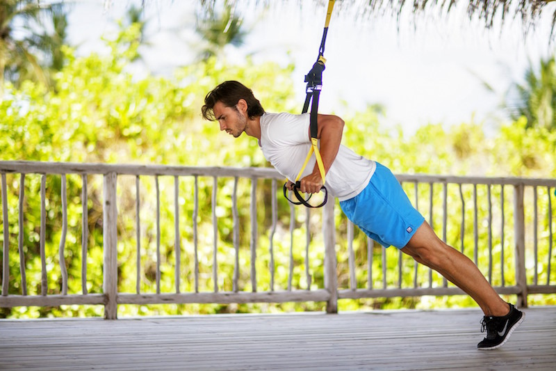 Fitness activity with Six Senses Integrated Wellness