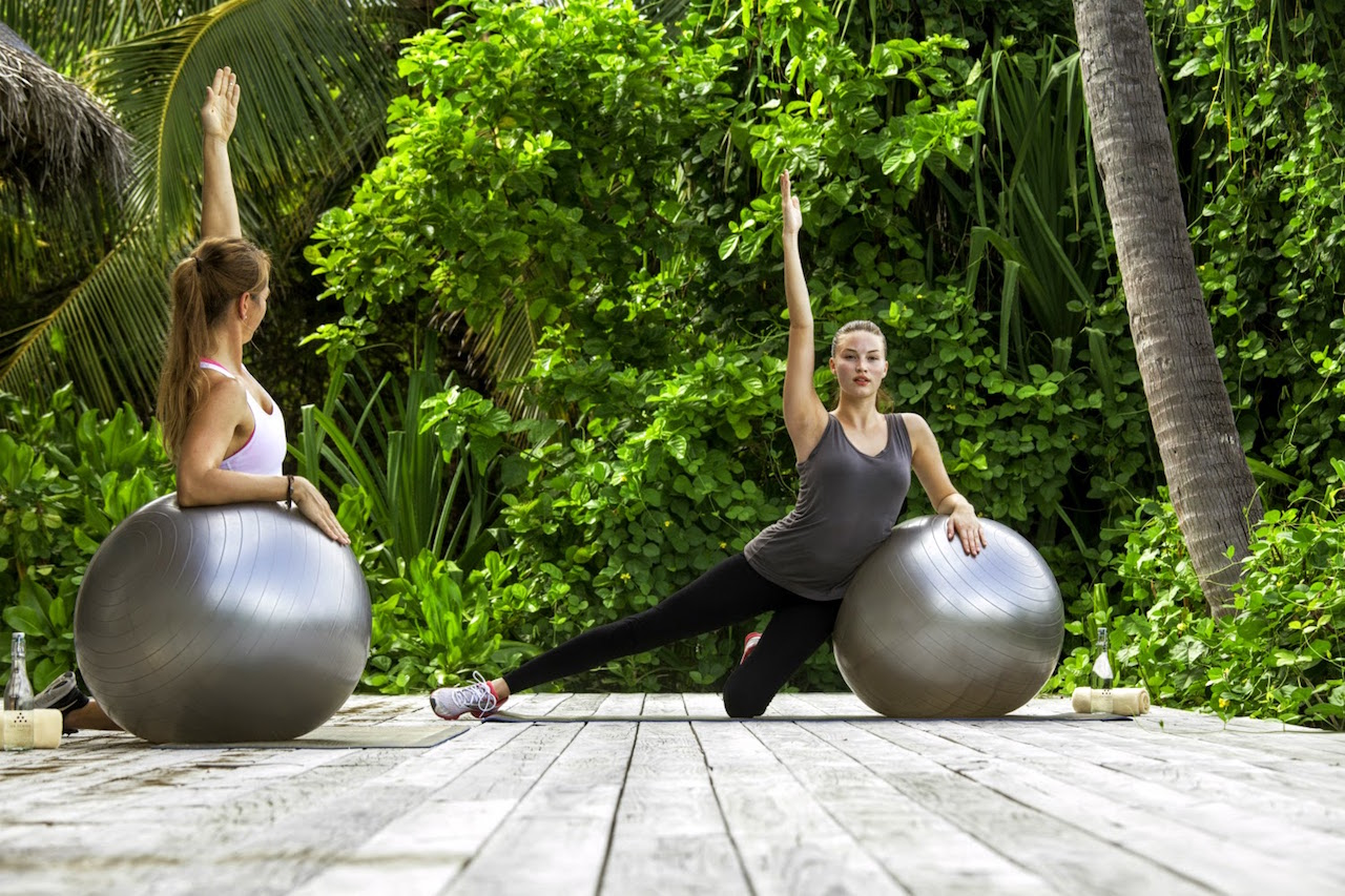 Six Senses Integrated Wellness group exercise