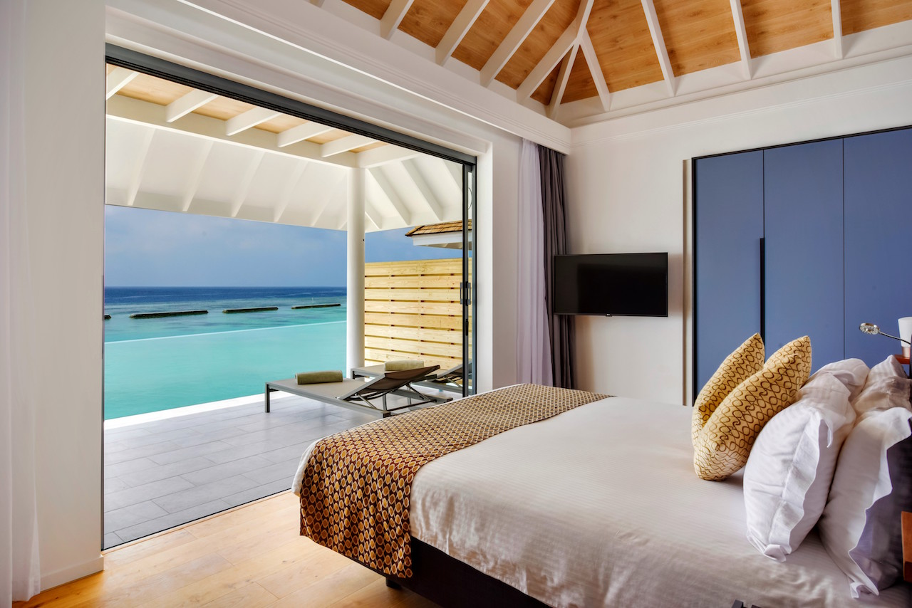 Two-Bedroom Beach House, Kuramathi Island Resort
