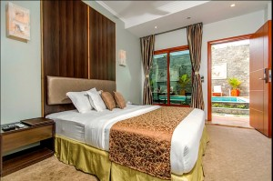 Deluxe Double Room with Pool View, Kaani Village and Spa