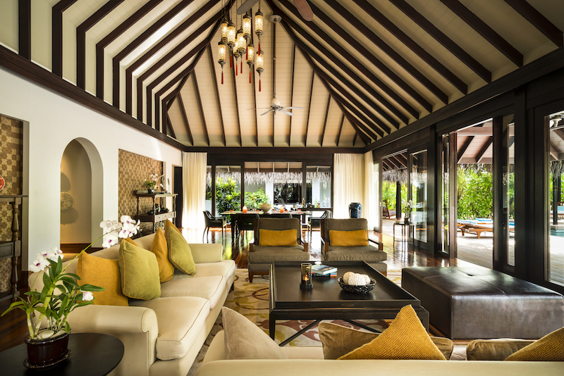 Three Bedroom Beach Pool Residence, Anantara Kihavah Villas