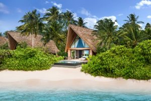 Beach Villa with Pool, The St. Regis Maldives Vommuli Resort