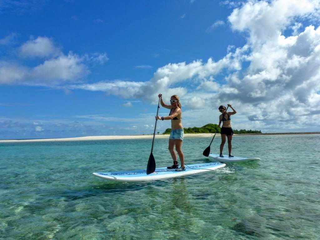 Paddleboarding, The Residence Maldives