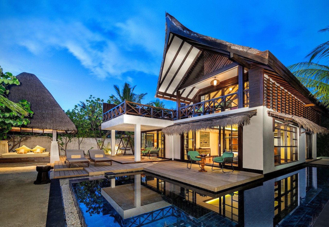 The Suite Exterior, Jumeirah Vittaveli