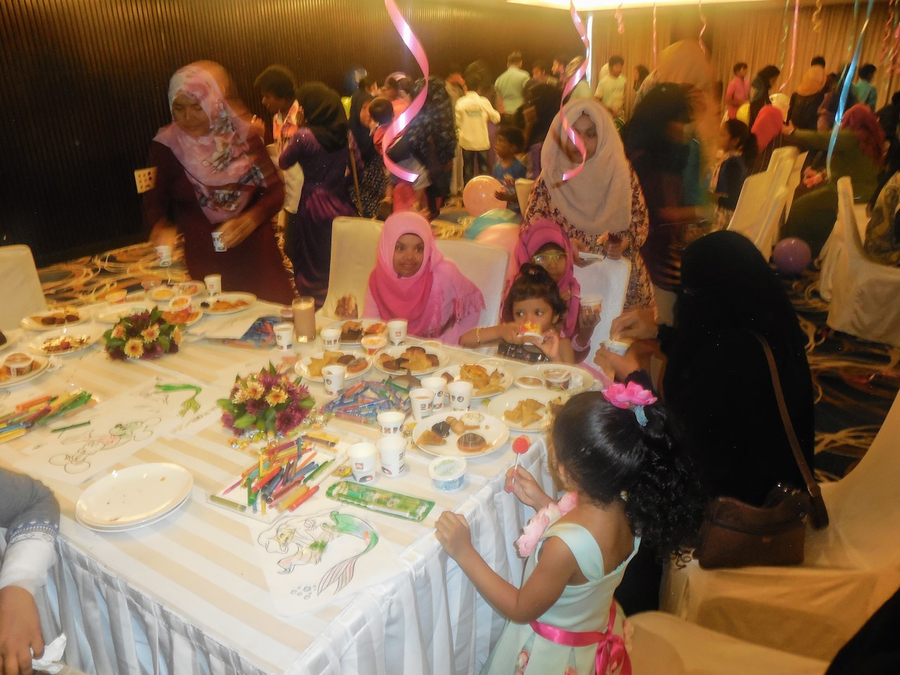 Childrens Day Celebration, Hotel Jen Malé Maldives