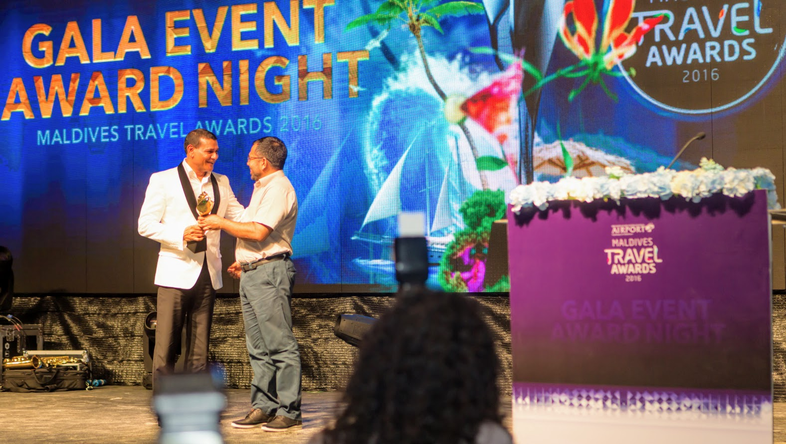 Sun Siyam Resorts wins prestigious accolades at the Maldives Travel Awards 2016