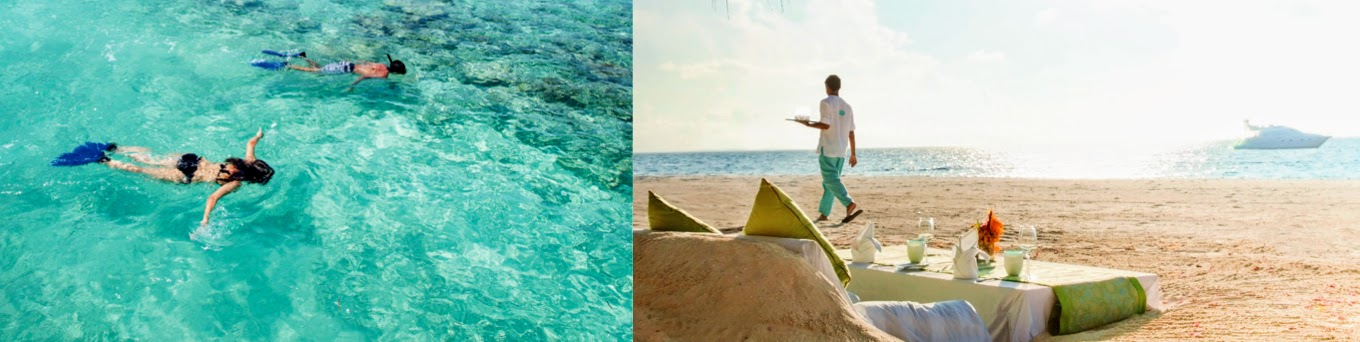 A big choice of activities or relaxation this Easter at the Outrigger Konotta Maldives Resort