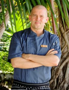Chris Long, Executive Chef, Outrigger Konotta Maldives Resort