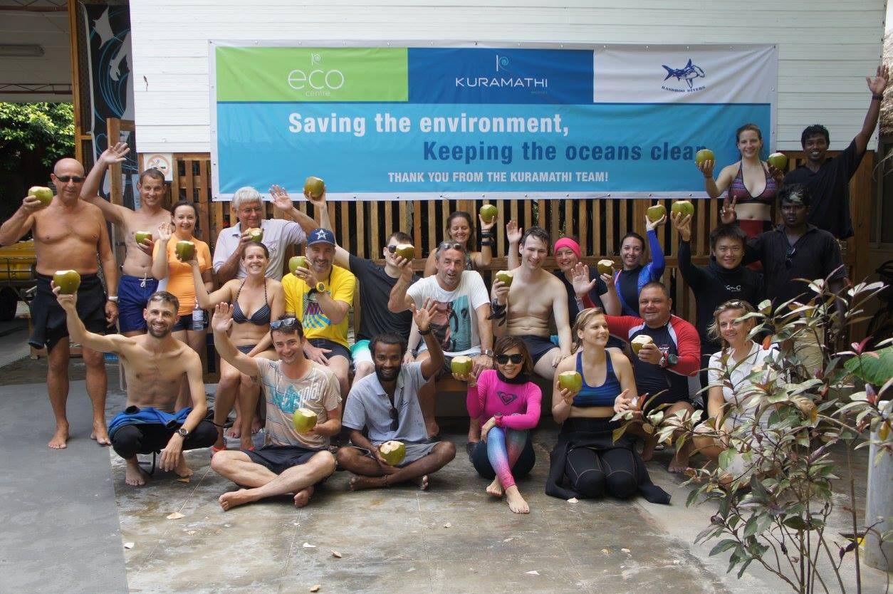 Celebrations - Make Holidays Greener campaign marked in Kuramathi
