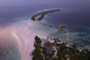 Joali Maldives aerial view