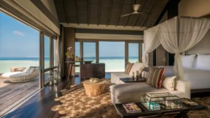 Three bed room Beach villa, Fourseasons Private Island Voavah