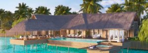 Two Bedroom Reef Villa with Pool, Waldorf Astoria Maldives Ithaafushi