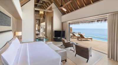 Reef Villa with Pool & Overwater Villa with Pool - Bedroom