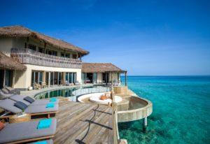 Three Bedroom Overwater Residence at InterContinental Maldives Maamunagau Resort