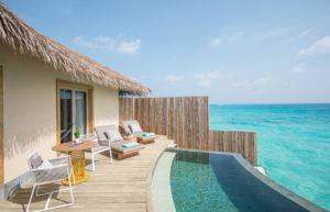Sunrise Overwater Pool Villa at InterContinental Maldives Maamunagau Resort