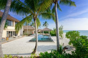 Two Bedroom Beach Pool Residence at InterContinental Maldives Maamunagau Resort