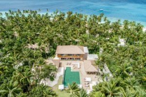 Three Bedroom Royal Beachfront Residence at InterContinental Maldives Maamunagau Resort